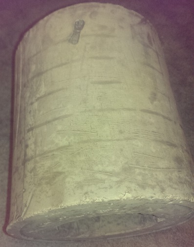 fly ash piece cast for 3 inch riser
