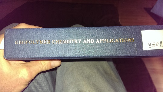Geopolymer Chemistry and Applications book